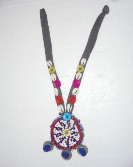 Medallion & Shell Necklace