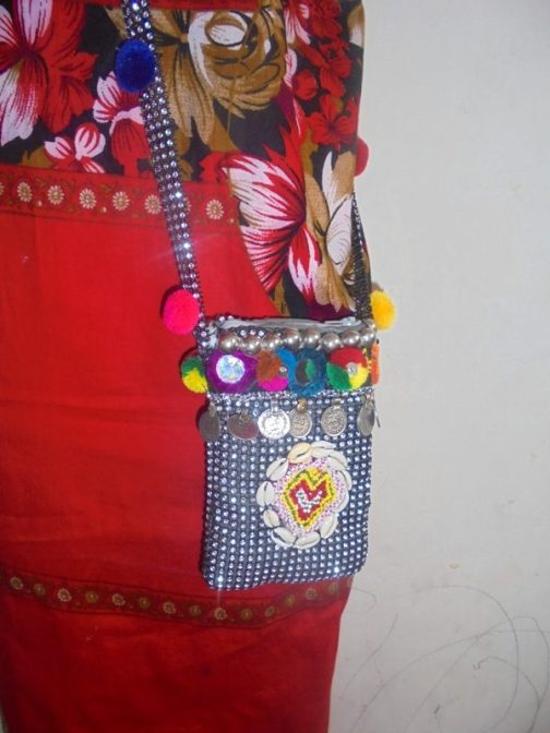 Fashion Mobile Cover Cum Hang Pouch