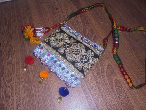 Vintage Pouch With Inner Zip Pocket