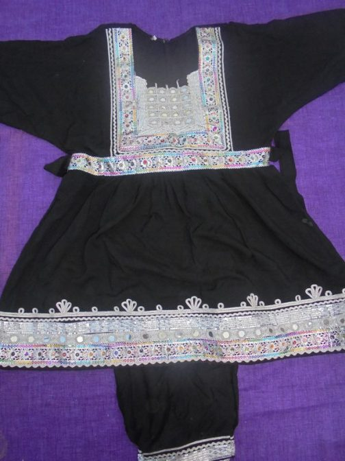 Tribal Child Dress With Trouser