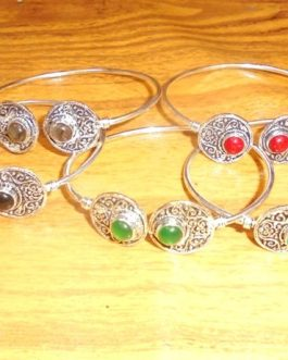 Wholesale Multi Stone Cuff-IN