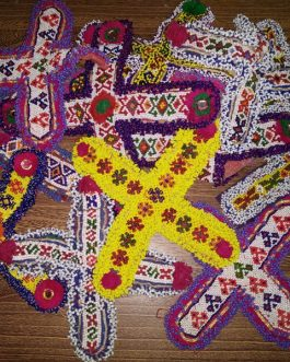 Cross Tribal Patch