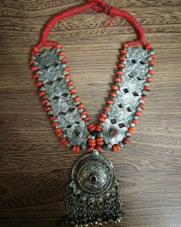 Turkman Red Beads Necklace