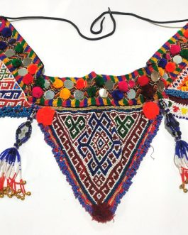 Three Beaded Patches And Mirror Belt