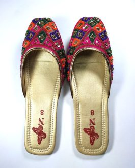 Handmade Traditional Slipper 1