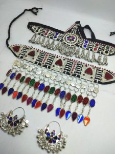 Afghani or Traditional jewelry