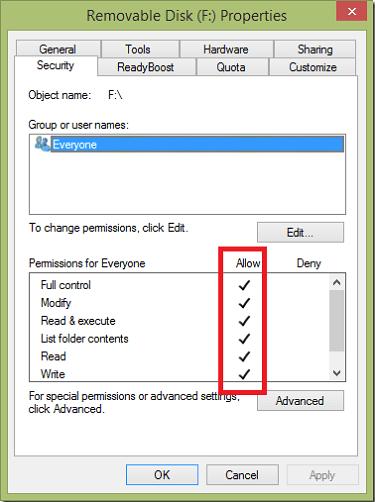 fix_write_protected_error_using_setting
