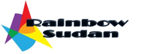 a rainbow sudan logo