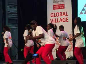 Ugandan Performing Group, Super Chargers at the conference