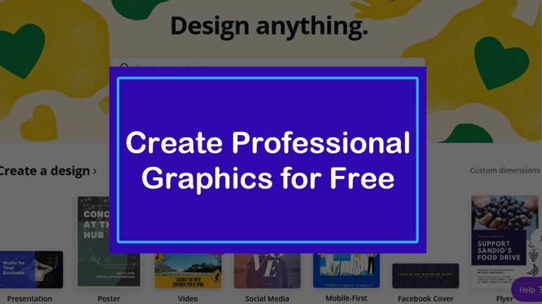 Create Professional Graphics for Free