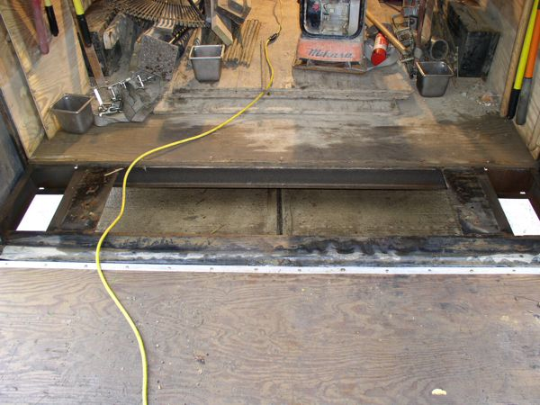 Enclosed Trailer Ramp Repair