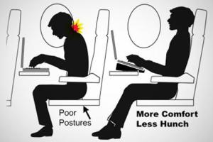 在飞机上舒适工作的最简单技巧