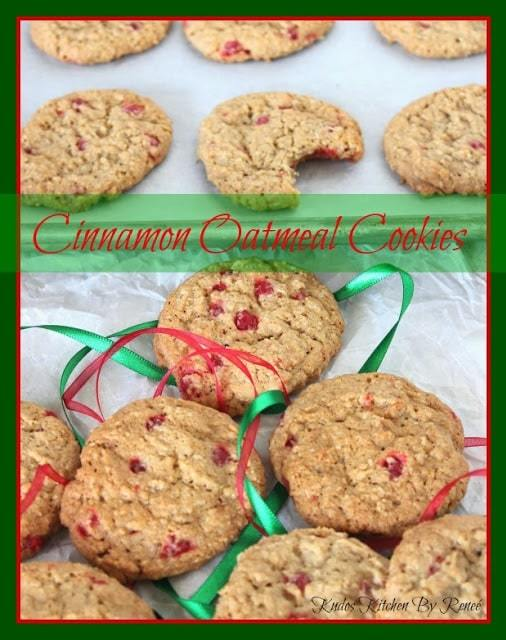 Cinnamon Oatmeal Cookie Recipe