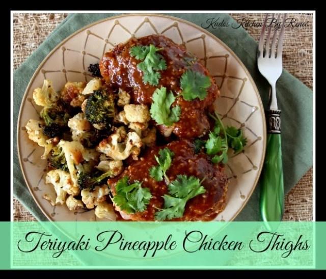 Teriyaki Pineapple Chicken Thigh Recipe