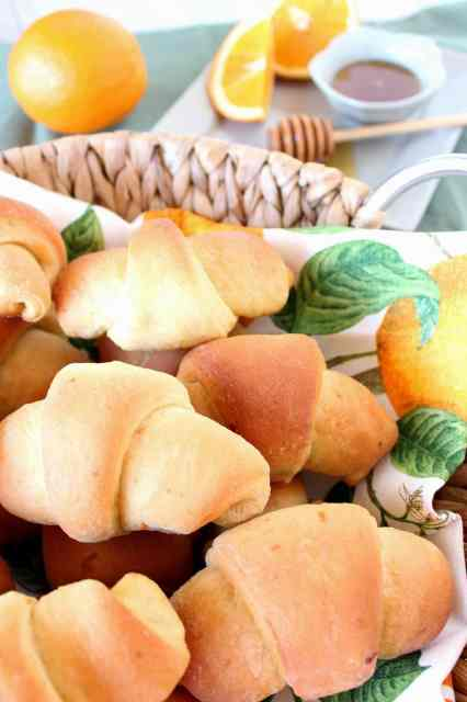 Orange Honey Crescent Roll Recipe