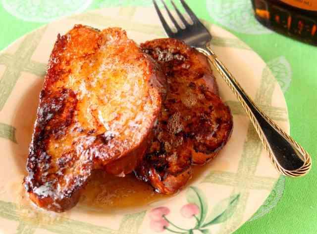 Challah French Toast Recipe via Kudos Kitchen By Renee
