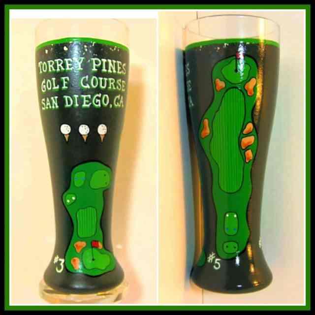 Torrey Pines Painted Pilsner via kudoskitchenbyrenee.com