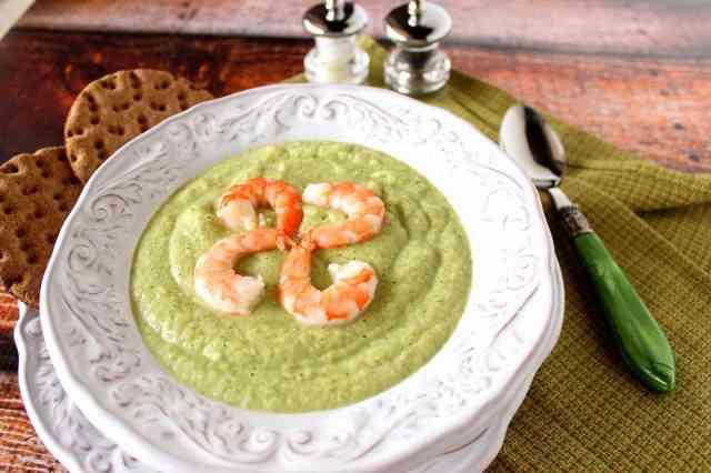 Light Creamed Roasted Vegetable Soup Recipe