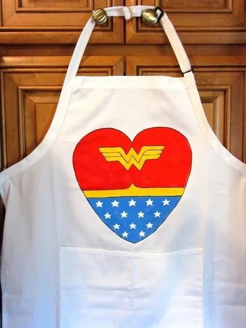 Wonder Woman Chefs Apron