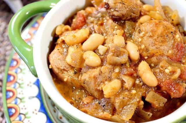 Pork and Sausage Cassoulet