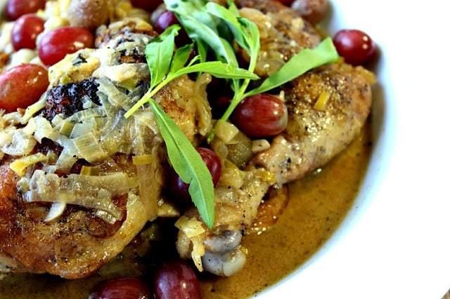 Riesling Braised Chicken