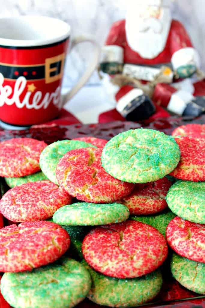 Santa's Favorite Sugar Cookies Recipe   Kudos Kitchen by Renee