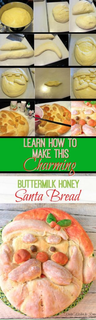 How to make Buttermilk Honey Santa Bread