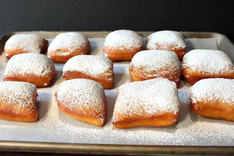 Powdered Sugar Beignets for Mardi Gras Recipe | Kudos Kitchen