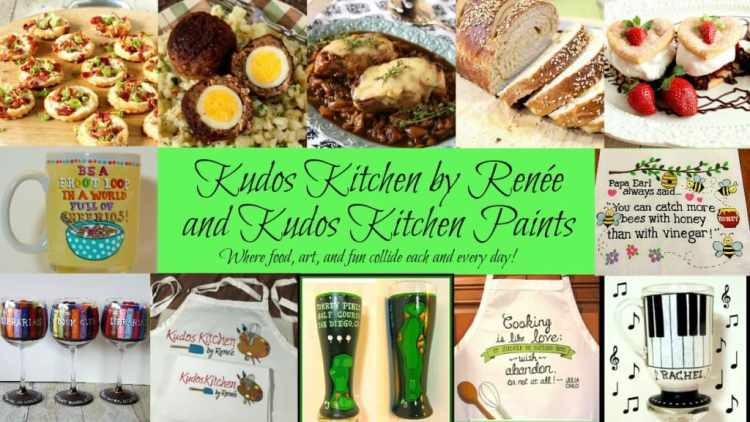 Kudos Kitchen by Renee Food and Art Collage