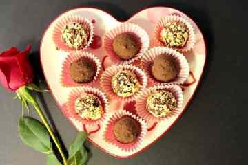 Chocolate and Avocado Truffles