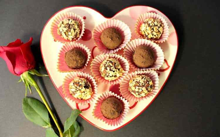 Chocolate and Avocado Truffles