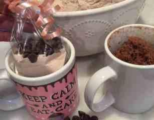 Mug cake gift set