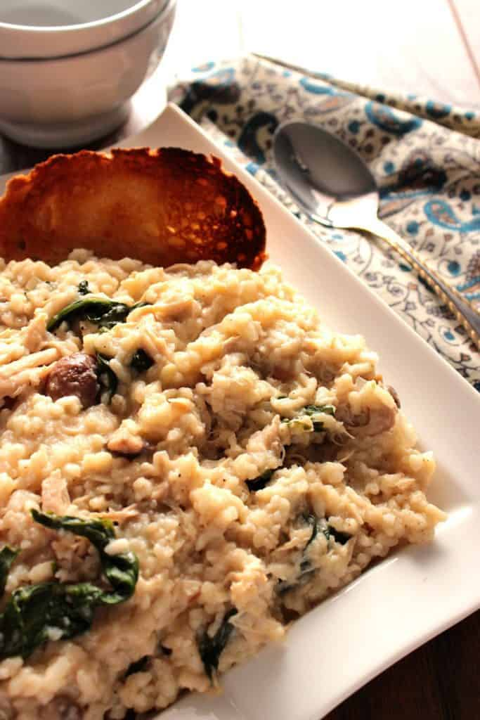 Risotto with Mascarpone and Chicken