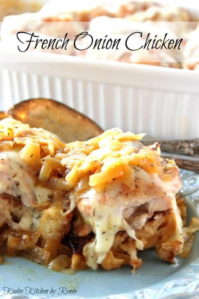 Chicken and onion casserole