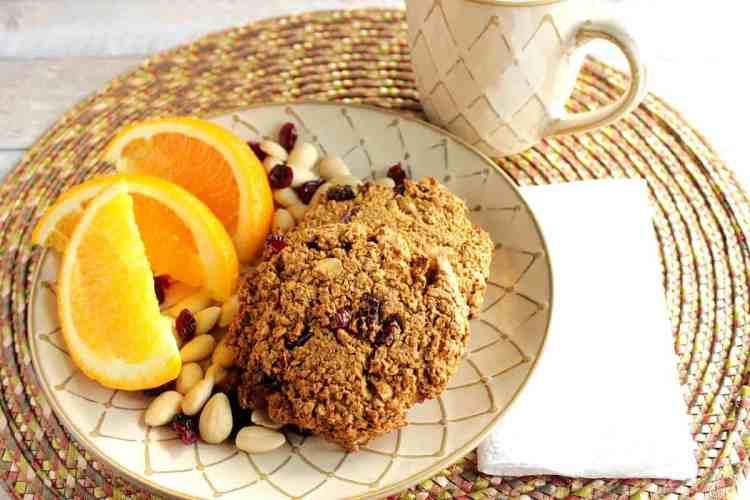 Ultimate Gluten Free Orange Cranberry Cookies