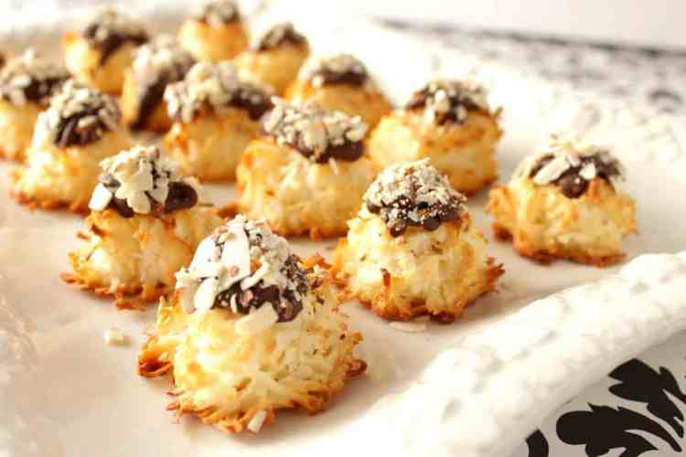 Chocolate and Almond Coconut Macaroon Recipe