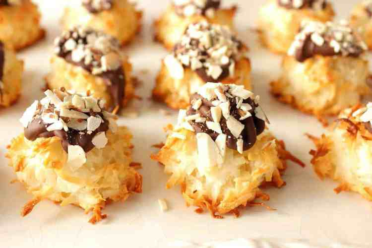 Coconut Almond Macaroon Cookie Recipe