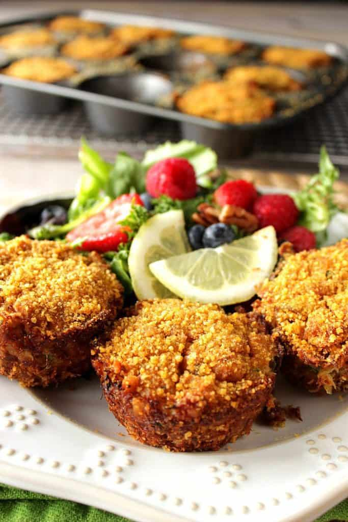 Meaty Cornflake Muffin Tip Crab Cakes