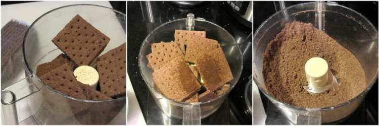 Chocolate Cheesecake photo tutorial