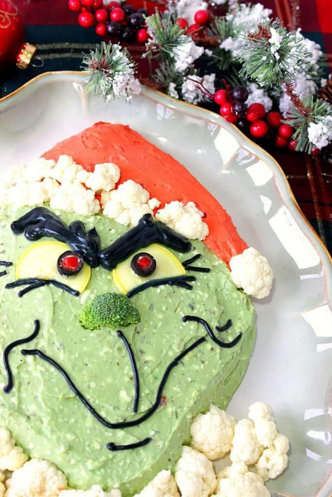Realistic Looking Grinch Guacamole