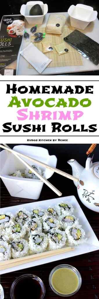 Easy to make Avocado Sushi Rolls