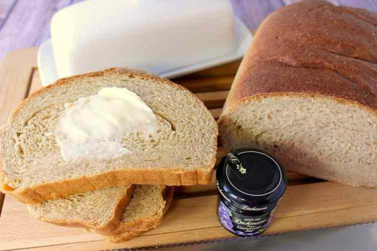 Whole Wheat Honey Ricotta Bread