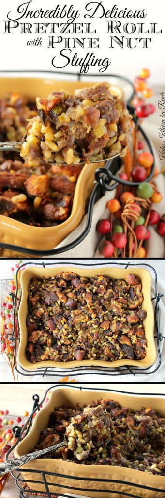 Incredibly Delicious Pretzel Roll Stuffing