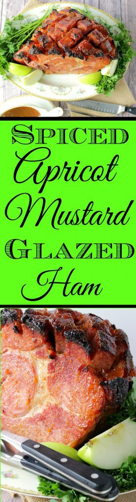 Glazed Ham with Apricot and Mustard