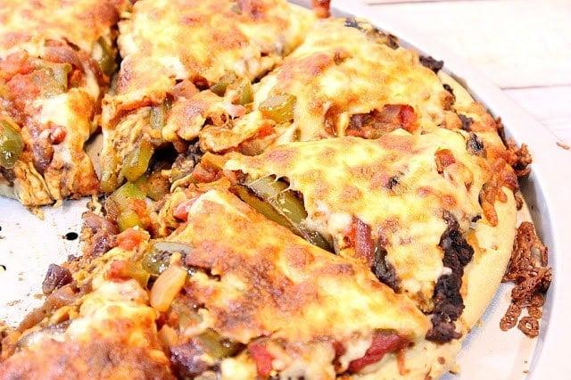 Chicken Fajita Pizza   Kudos Kitchen by Renee