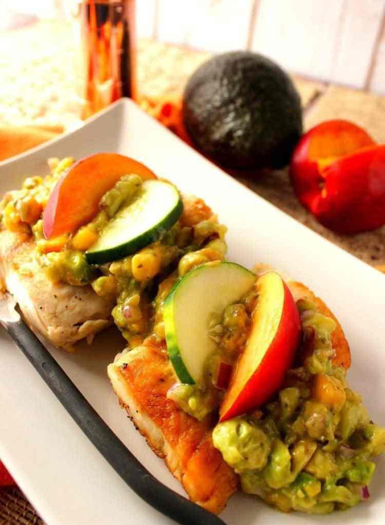 Mahi-Mahi with Avocado & Nectarine Salsa
