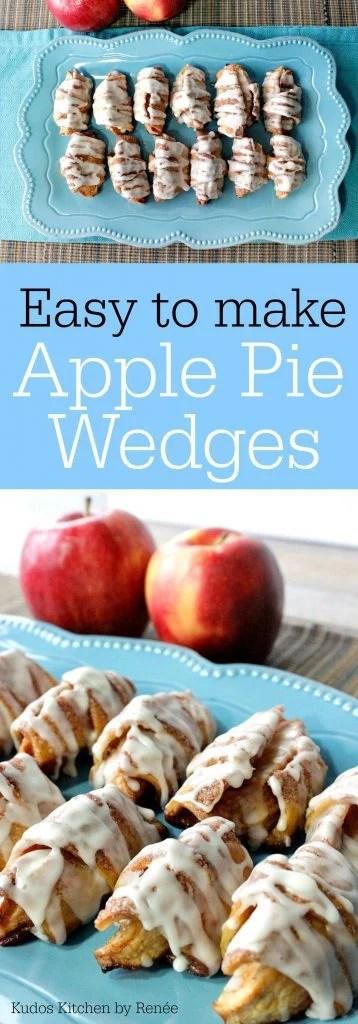 apple pie wedges