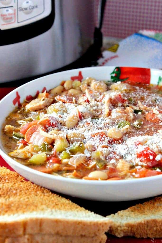Italian Pepperoni Soup Recipe for Instant Pot or Slow Cooker