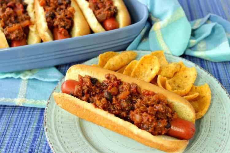 Southwestern Sloppy Jose Hot Dogs
