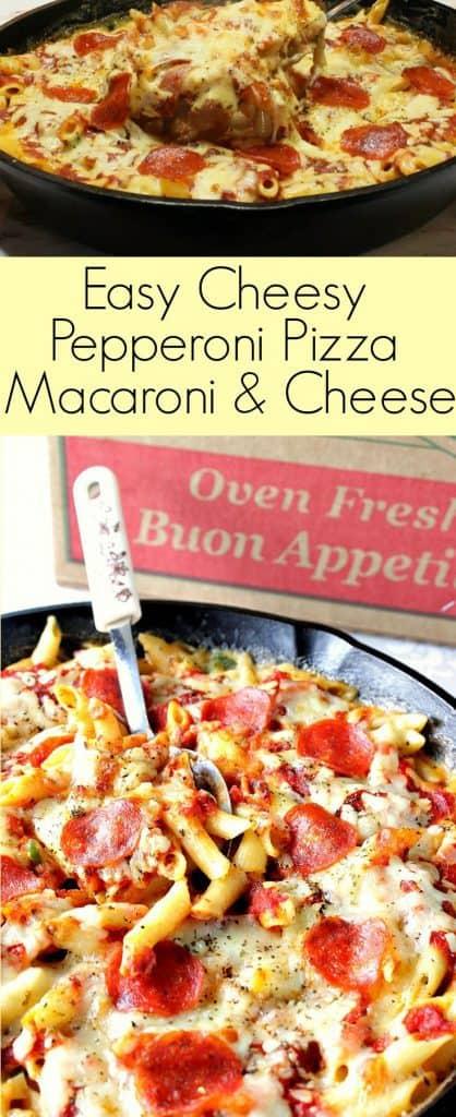Pepperoni Pizza Macaroni & Cheese double image